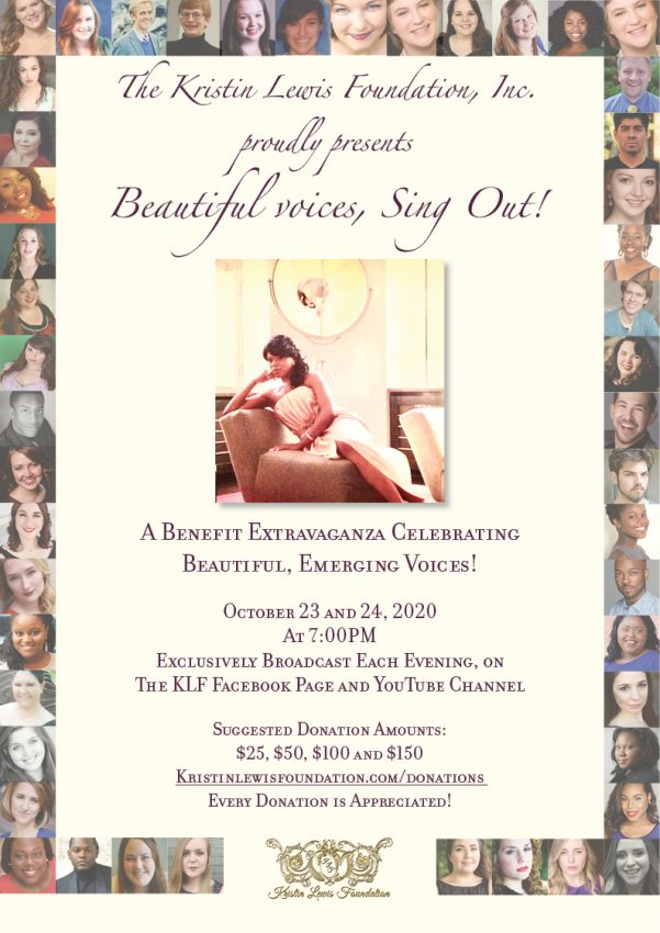 Beautiful voices, sing out! flyer